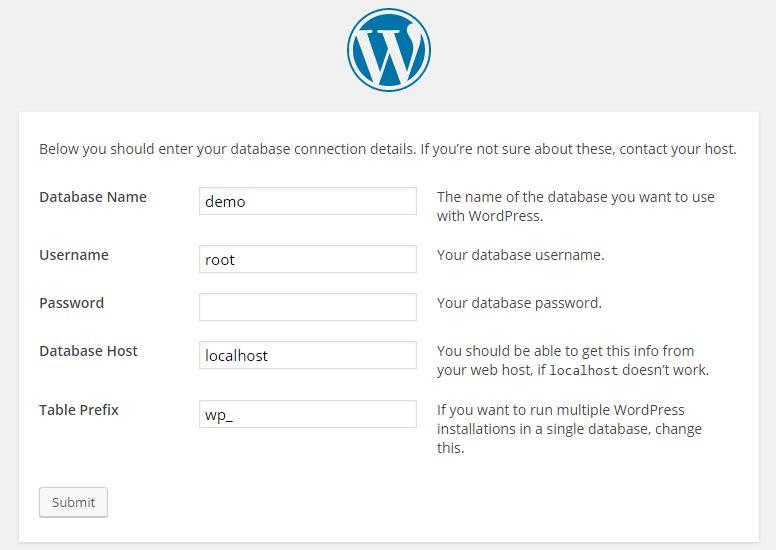 database detail